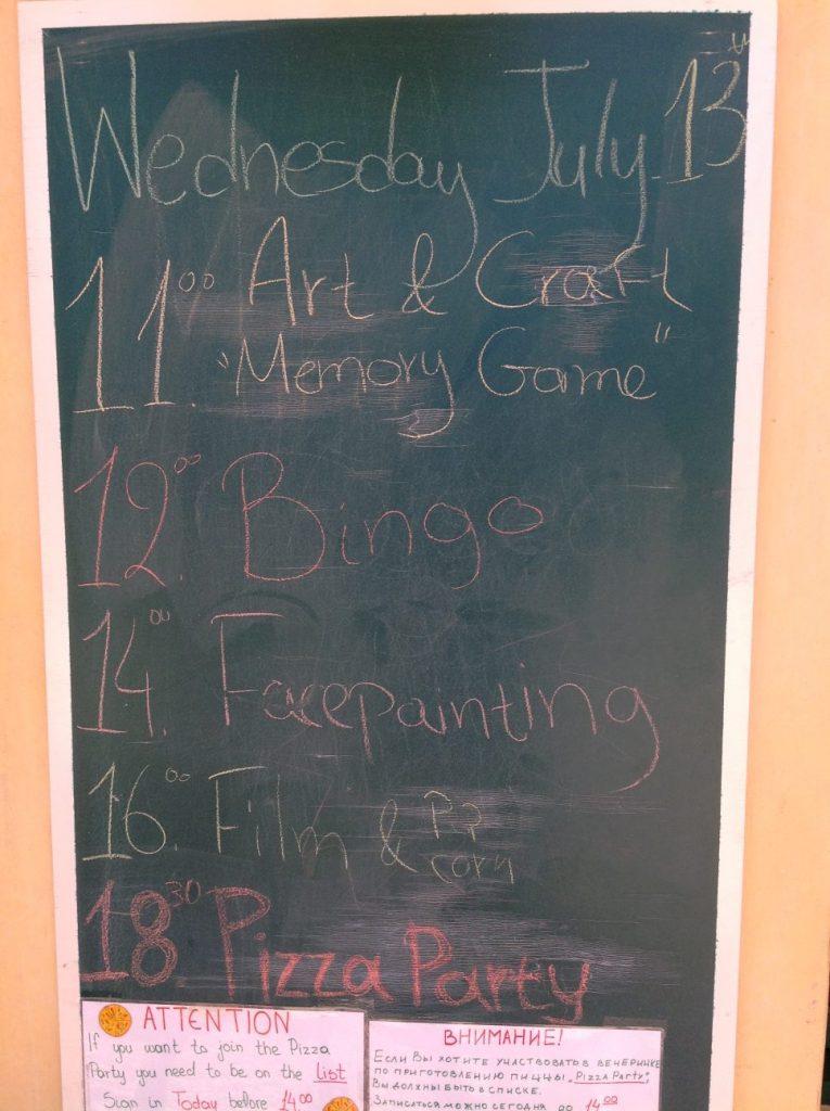 Agenda vom Mini-Club